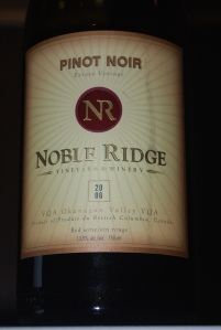 Pinot Noir 2006 from Noble Ridge
