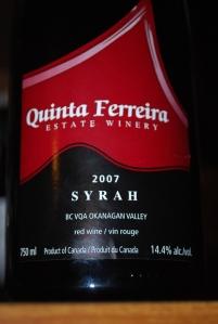 Quinta Syrah 1