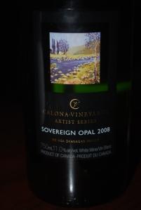 Calona Aritist Series Sovereign Opal 2008