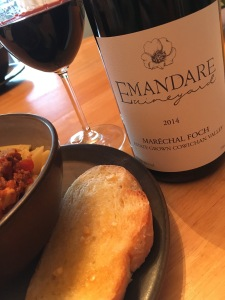 Emandare Vineyards from Dunca, BC