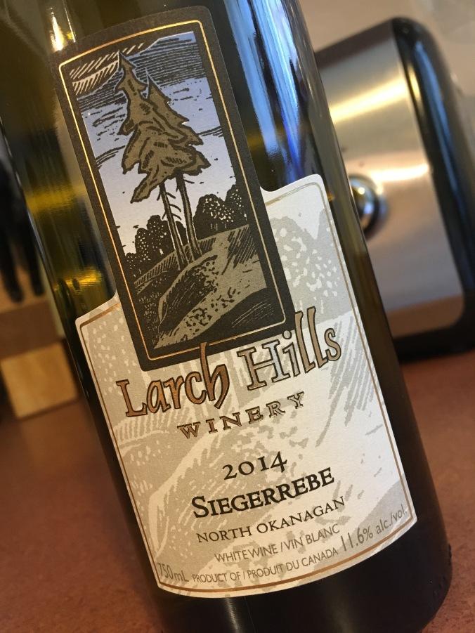 Larch Hills Siegerrebe 2014   Wine Country BC